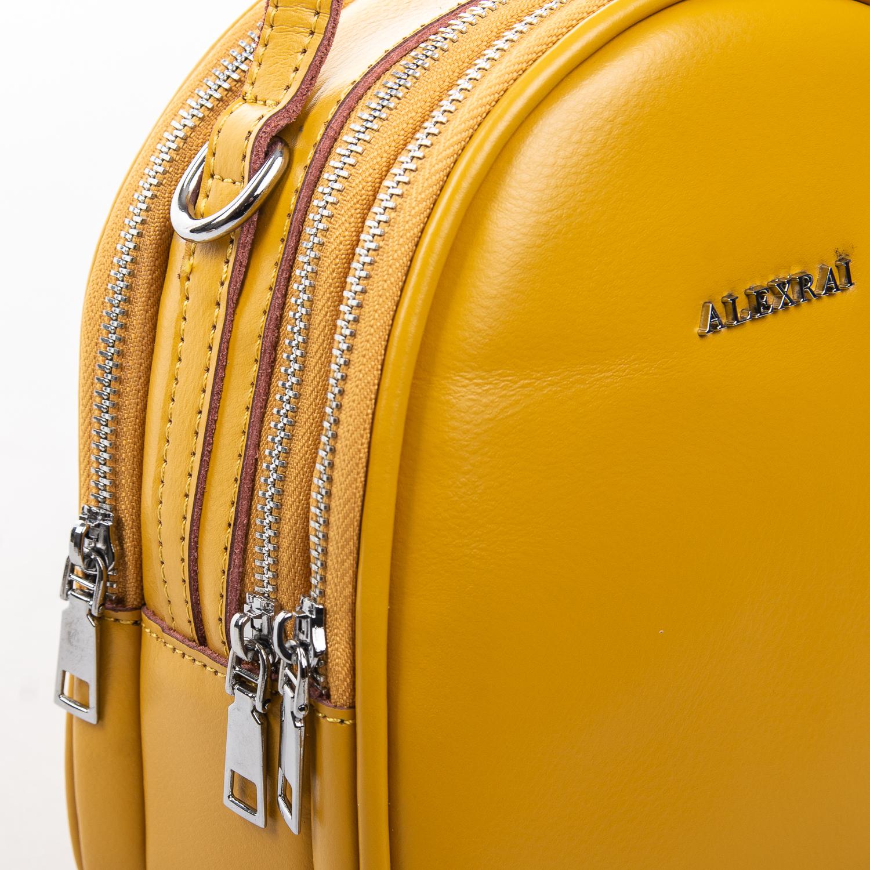 Сумка Женская Клатч кожа ALEX RAI 2-01 2228 yellow - фото 3
