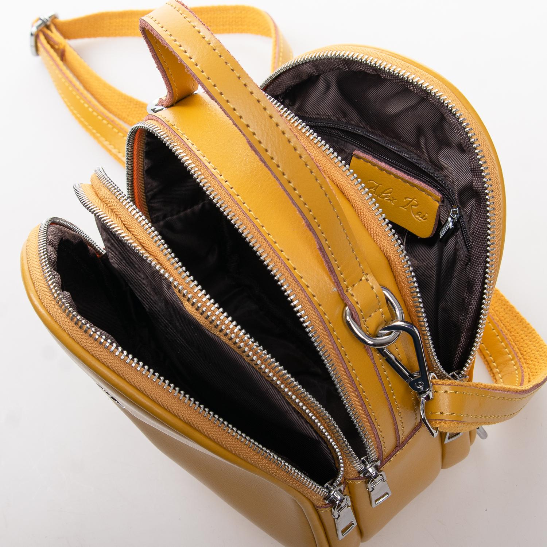 Сумка Женская Клатч кожа ALEX RAI 2-01 2228 yellow - фото 5