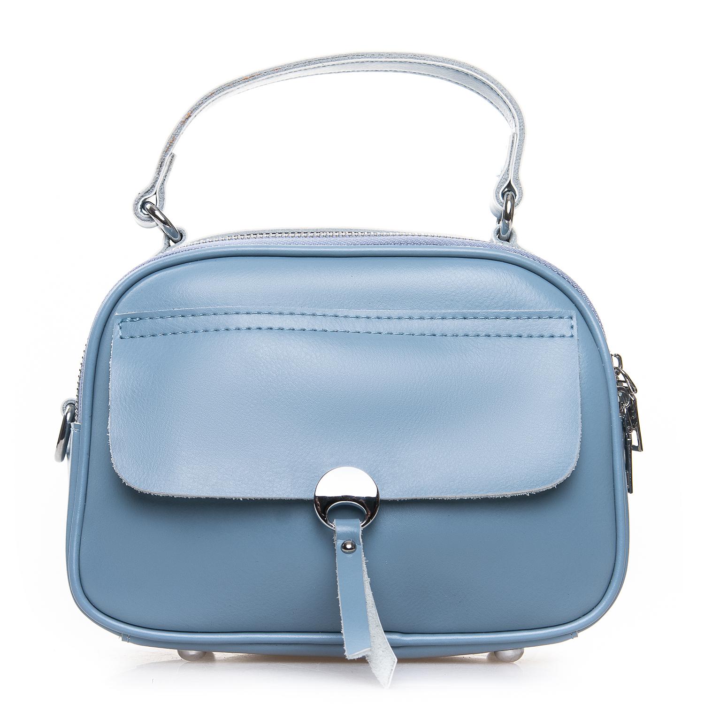 Сумка Женская Клатч кожа ALEX RAI 2-01 8646 light-blue