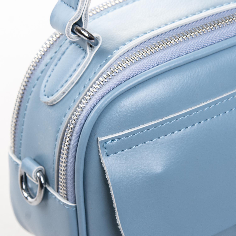 Сумка Женская Клатч кожа ALEX RAI 2-01 8646 light-blue - фото 3