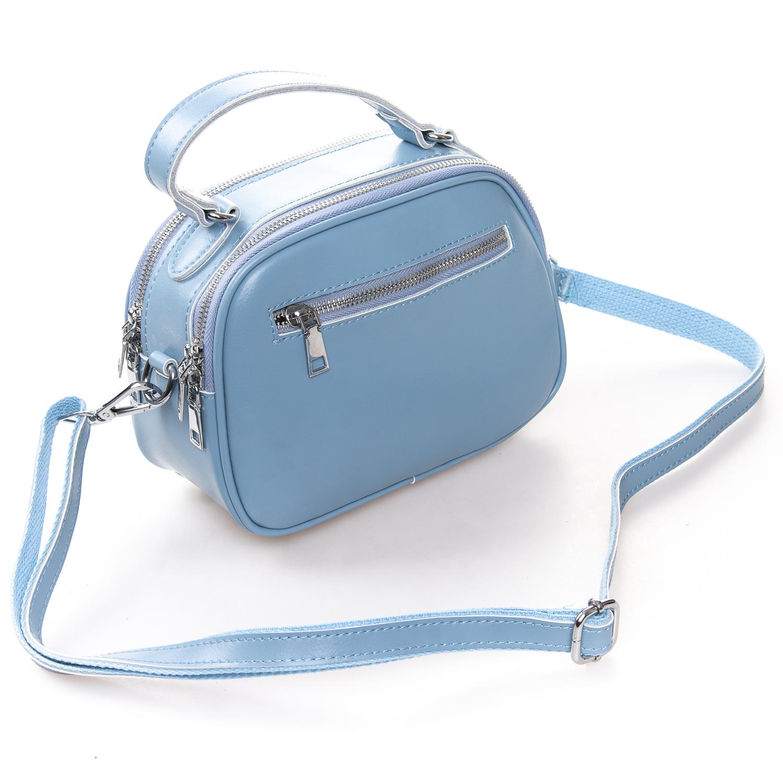 Сумка Женская Клатч кожа ALEX RAI 2-01 8646 light-blue - фото 4