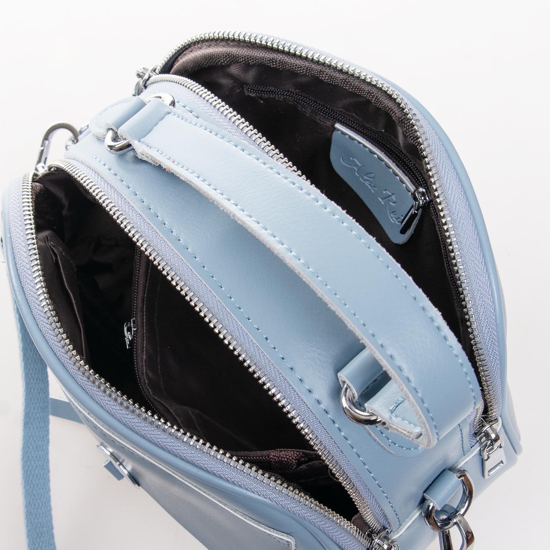 Сумка Женская Клатч кожа ALEX RAI 2-01 8646 light-blue - фото 5