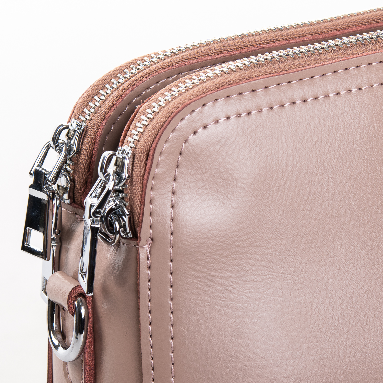 Сумка Женская Клатч кожа ALEX RAI 2-01 8725 pink - фото 3