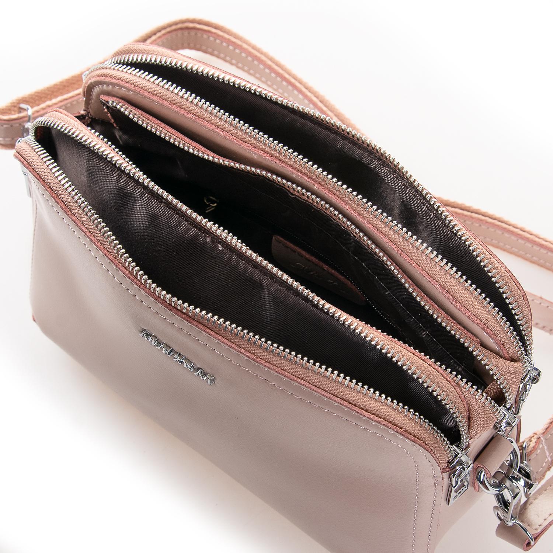 Сумка Женская Клатч кожа ALEX RAI 2-01 8725 pink - фото 5