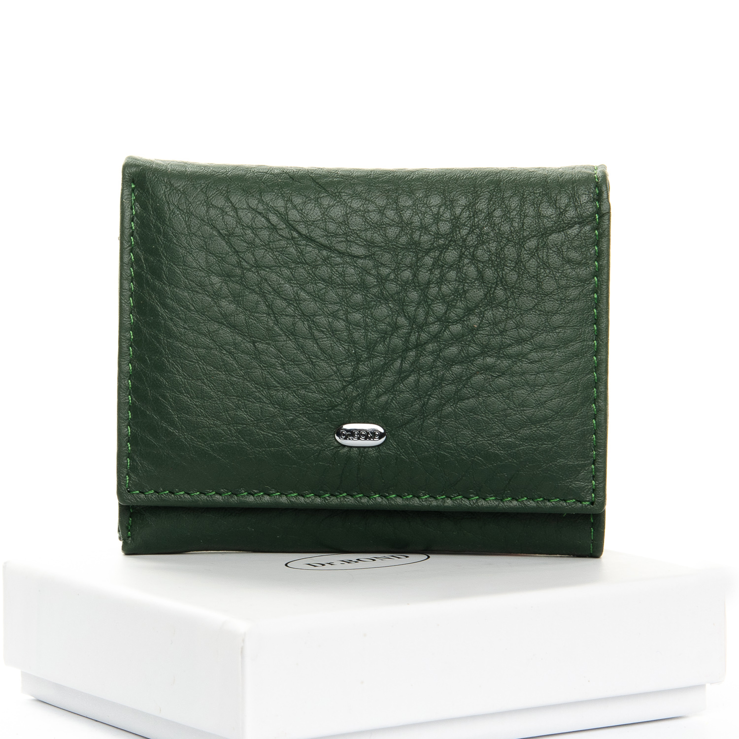 Кошелек Classic кожа DR. BOND WS-6 dark-green