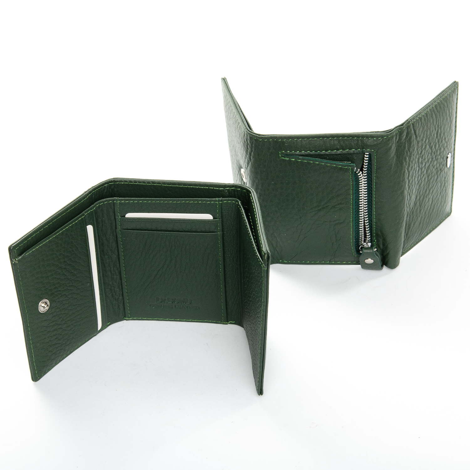 Кошелек Classic кожа DR. BOND WS-6 dark-green - фото 4