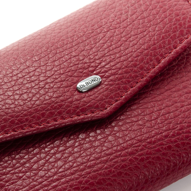 Кошелек Classic кожа DR. BOND WS-3 plum-red - фото 3