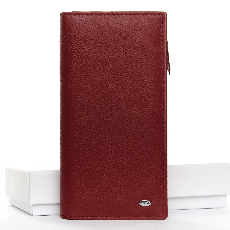 Кошелек Classic кожа DR. BOND WMB-3M dark-red