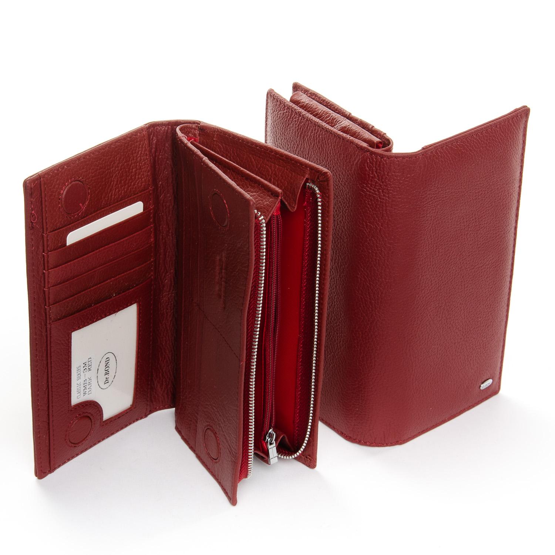 Кошелек Classic кожа DR. BOND WMB-3M dark-red - фото 4