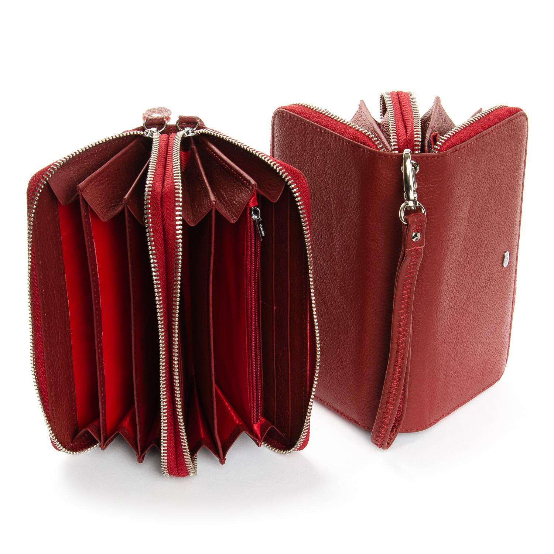 Кошелек Classic кожа DR. BOND W39-3 dark-red - фото 4
