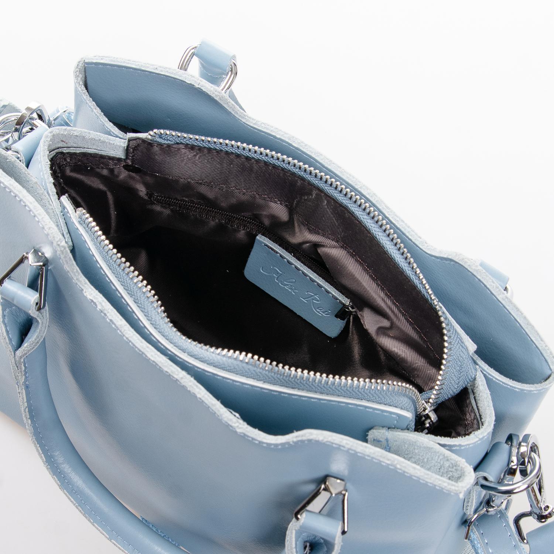 Сумка Женская Классическая кожа ALEX RAI 2-02 8777 light-blue - фото 5