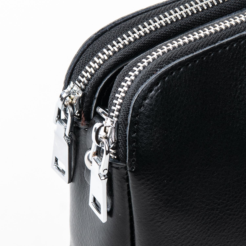 Сумка Женская Клатч кожа ALEX RAI 2-01 8701 black - фото 3