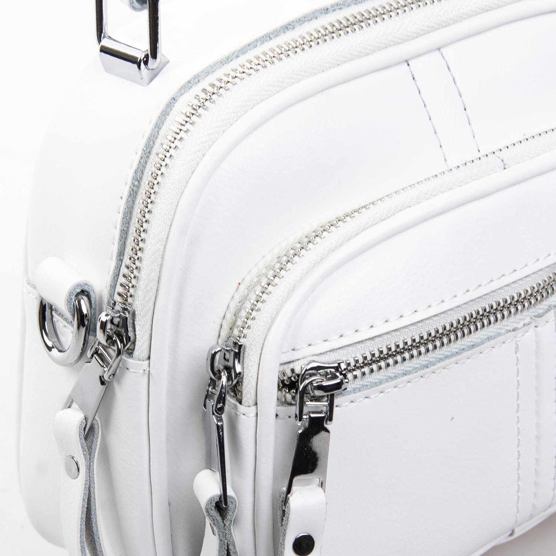Сумка Женская Клатч кожа ALEX RAI 2-01 8802 white - фото 3