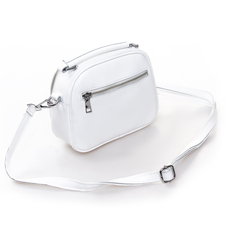 Сумка Женская Клатч кожа ALEX RAI 2-01 8802 white - фото 4