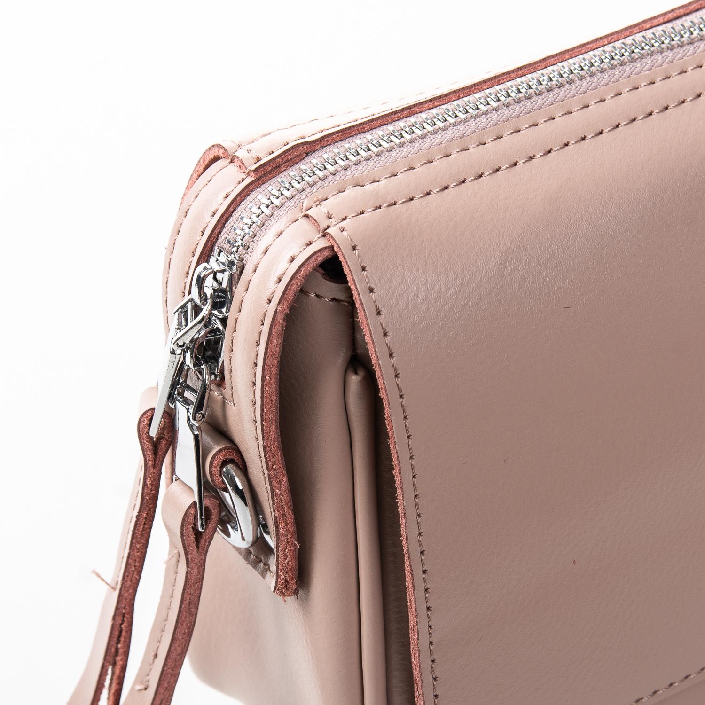 Сумка Женская Клатч кожа ALEX RAI 2-01 2227 pink - фото 3