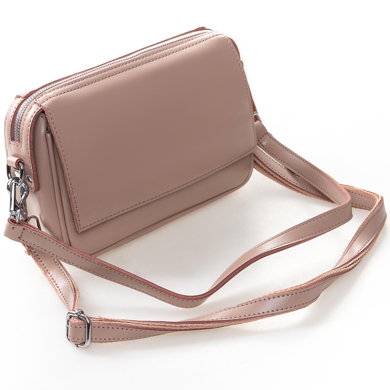 Сумка Женская Клатч кожа ALEX RAI 2-01 2227 pink - фото 4