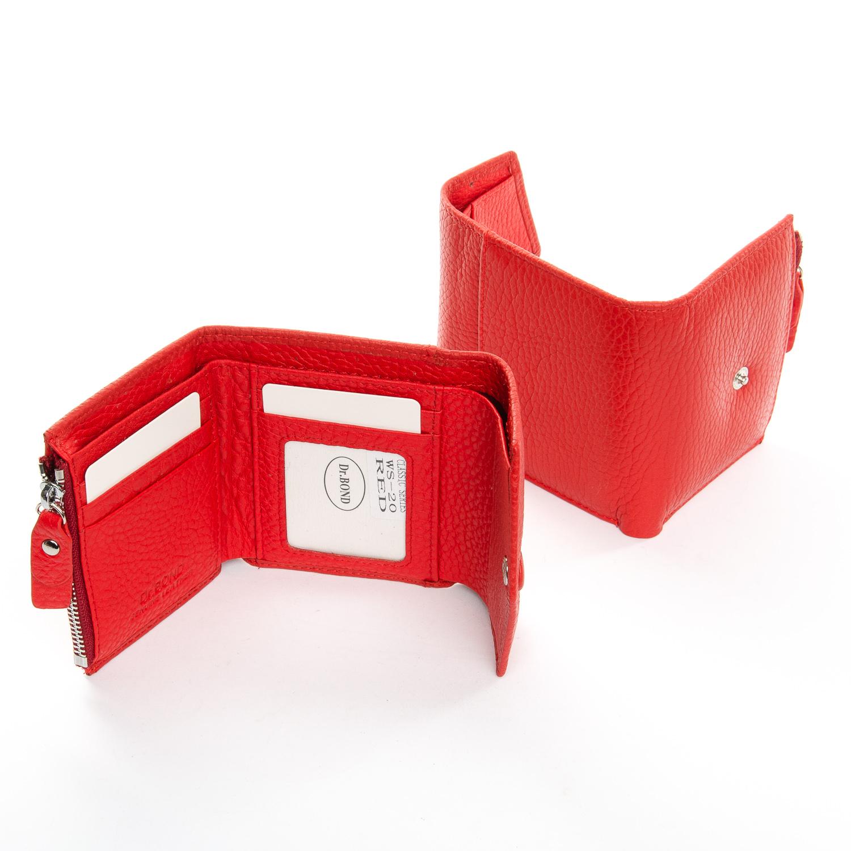 Кошелек Classic кожа DR. BOND WS-20 red - фото 4