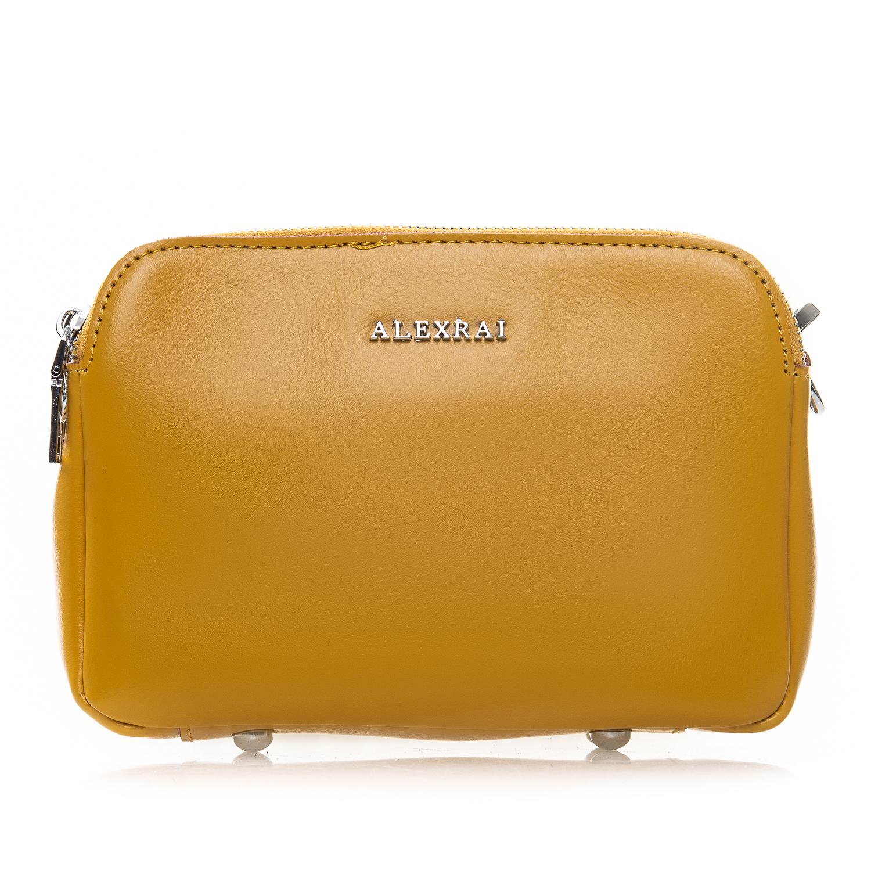 Сумка Женская Клатч кожа ALEX RAI 2-01 8701 yellow