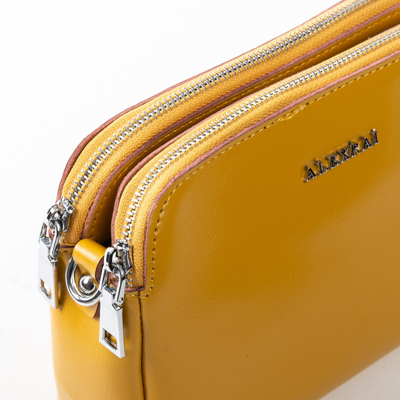 Сумка Женская Клатч кожа ALEX RAI 2-01 8701 yellow - фото 3