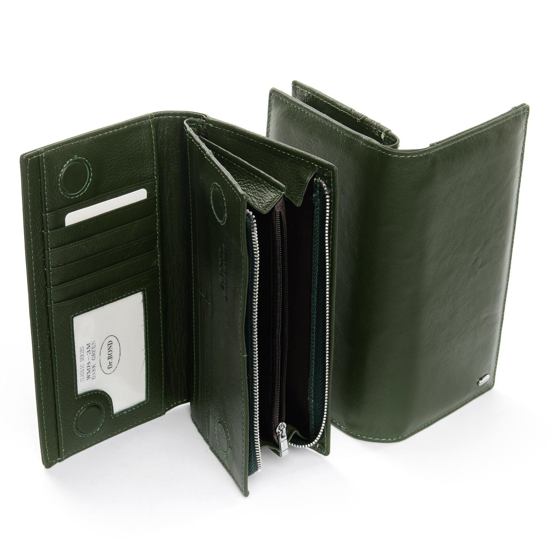 Кошелек Classic кожа DR. BOND WMB-3M dark-green - фото 4