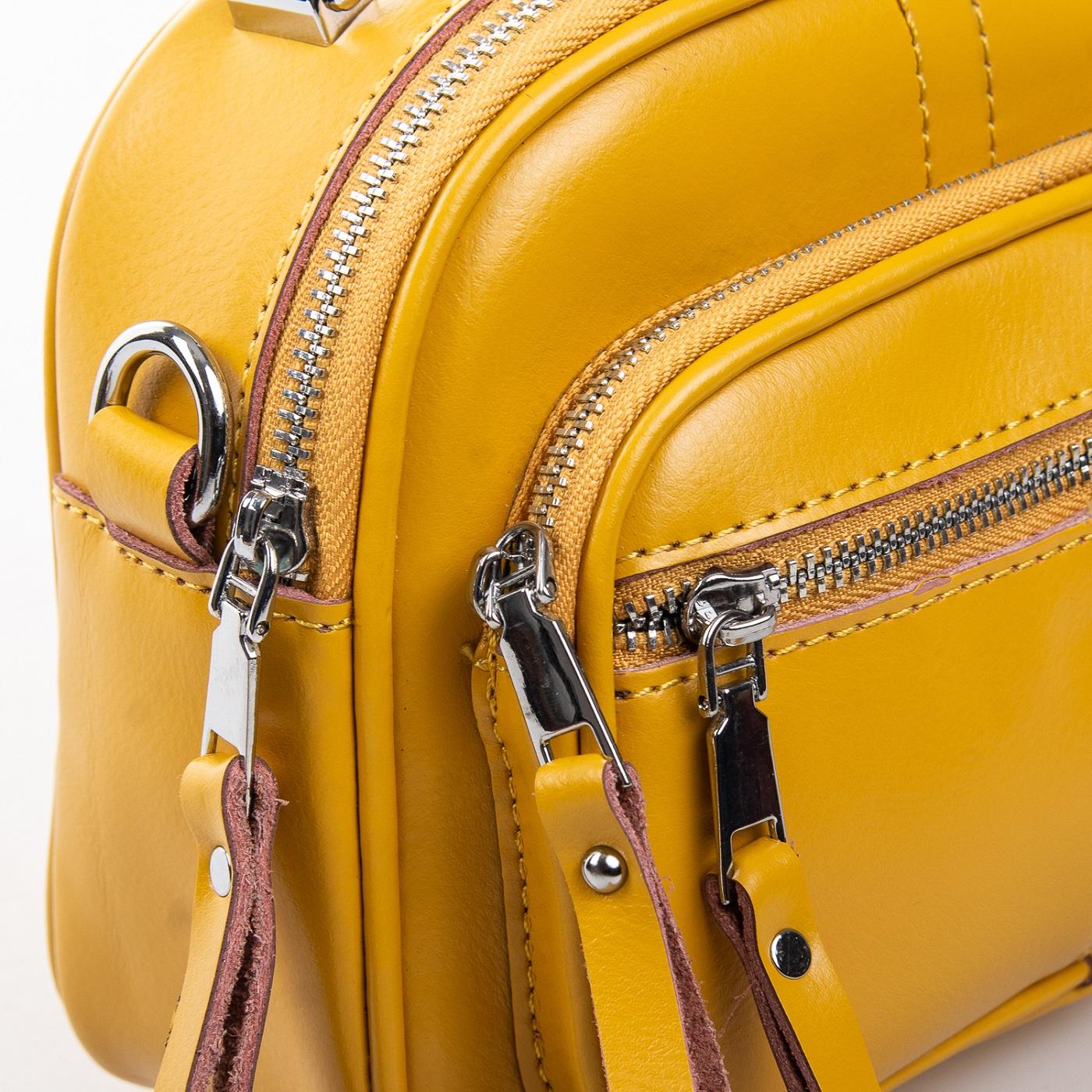 Сумка Женская Клатч кожа ALEX RAI 2-01 8802 yellow - фото 5