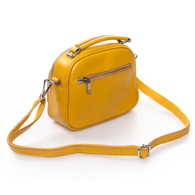 Сумка Женская Клатч кожа ALEX RAI 2-01 8802 yellow - фото 3