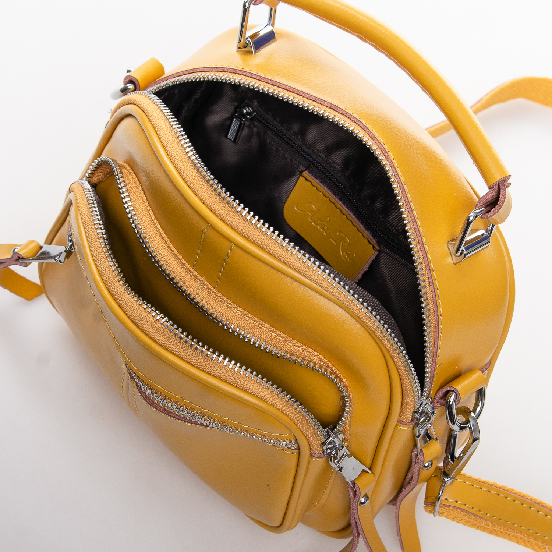 Сумка Женская Клатч кожа ALEX RAI 2-01 8802 yellow - фото 4