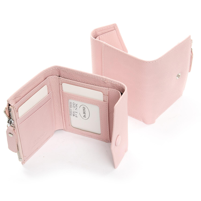 Кошелек Classic кожа DR. BOND WS-20 pink - фото 4