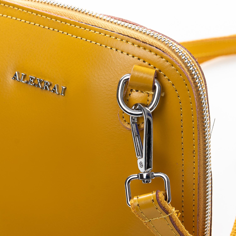 Сумка Женская Клатч кожа ALEX RAI 2-01 8803 yellow - фото 3