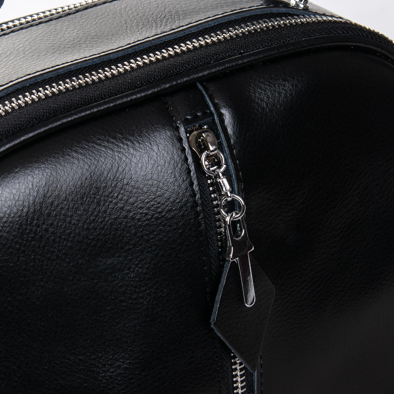 Сумка Женская Клатч кожа ALEX RAI 2-01 8389 black - фото 3