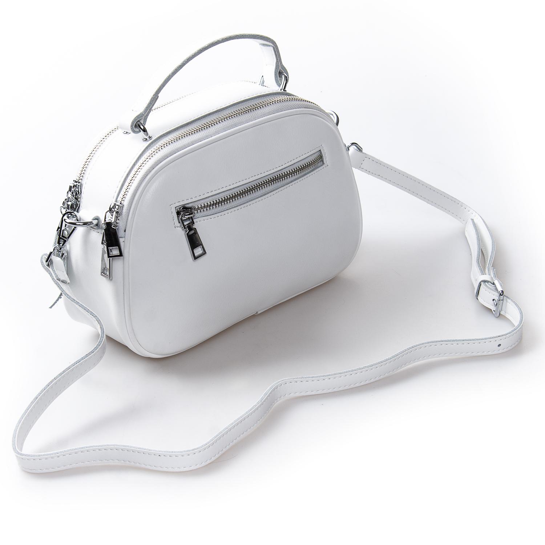 Сумка Женская Клатч кожа ALEX RAI 2-01 8389 white - фото 4