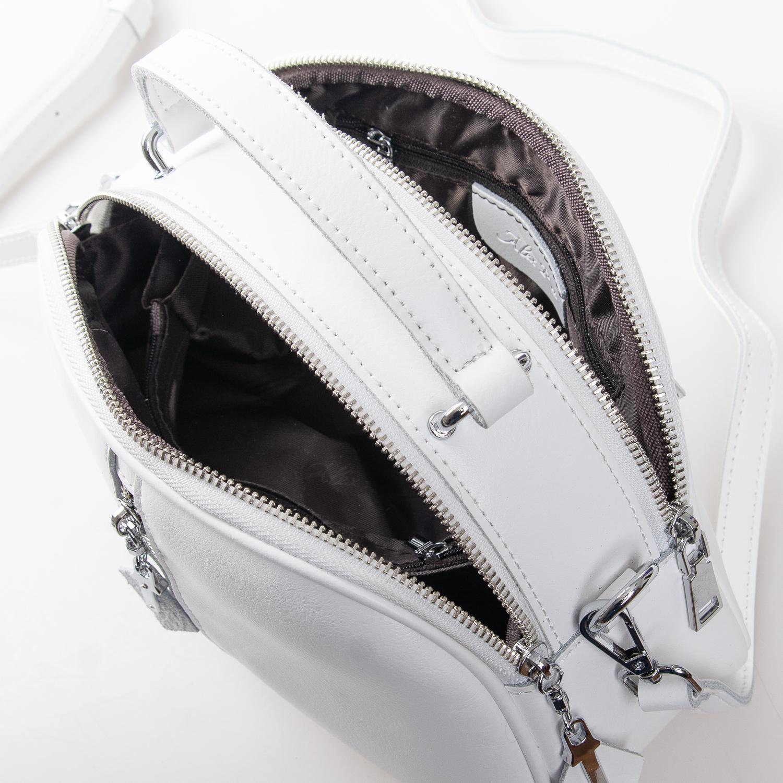 Сумка Женская Клатч кожа ALEX RAI 2-01 8389 white - фото 5