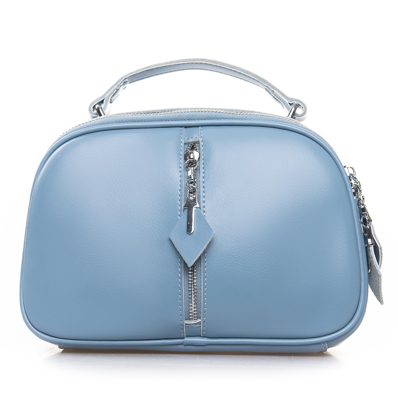 Сумка Женская Клатч кожа ALEX RAI 2-01 8389 light-blue