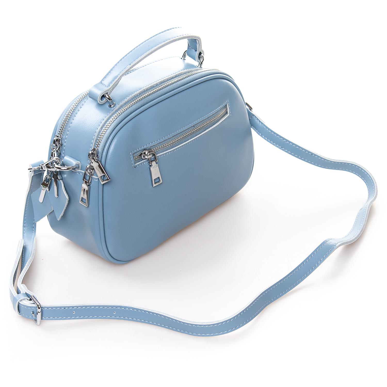 Сумка Женская Клатч кожа ALEX RAI 2-01 8389 light-blue - фото 4