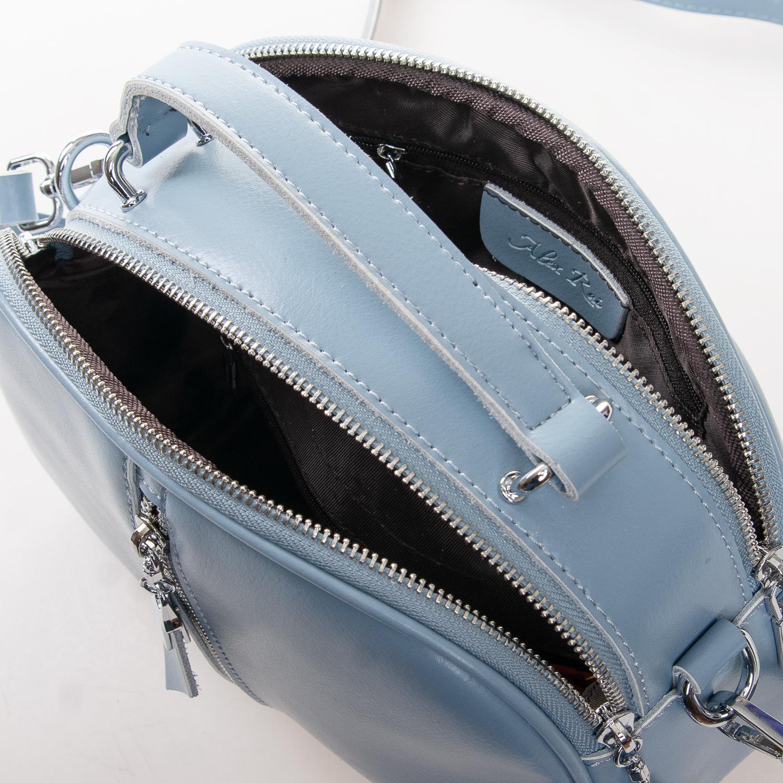 Сумка Женская Клатч кожа ALEX RAI 2-01 8389 light-blue - фото 5