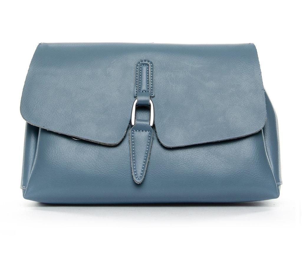 Сумка Женская Классическая кожа ALEX RAI 2-02 8778 light-blue
