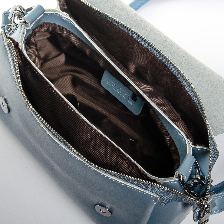 Сумка Женская Классическая кожа ALEX RAI 2-02 8778 light-blue - фото 6