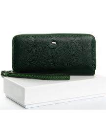 Кошелек Classic кожа DR. BOND W39-3 dark-green