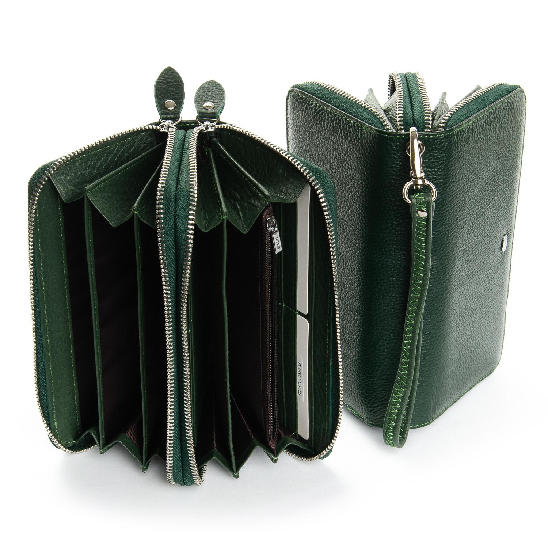Кошелек Classic кожа DR. BOND W39-3 dark-green - фото 4