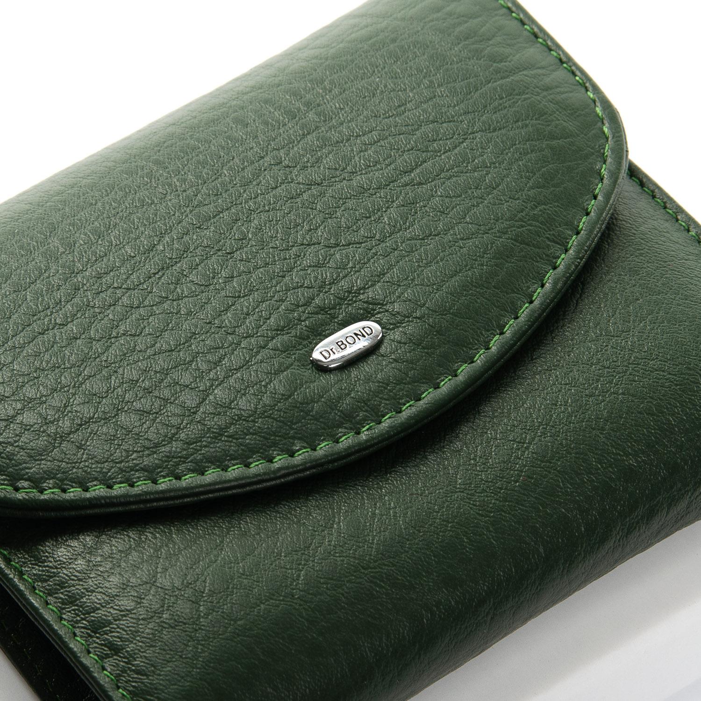 Кошелек Classic кожа DR. BOND WS-4 dark-green - фото 3
