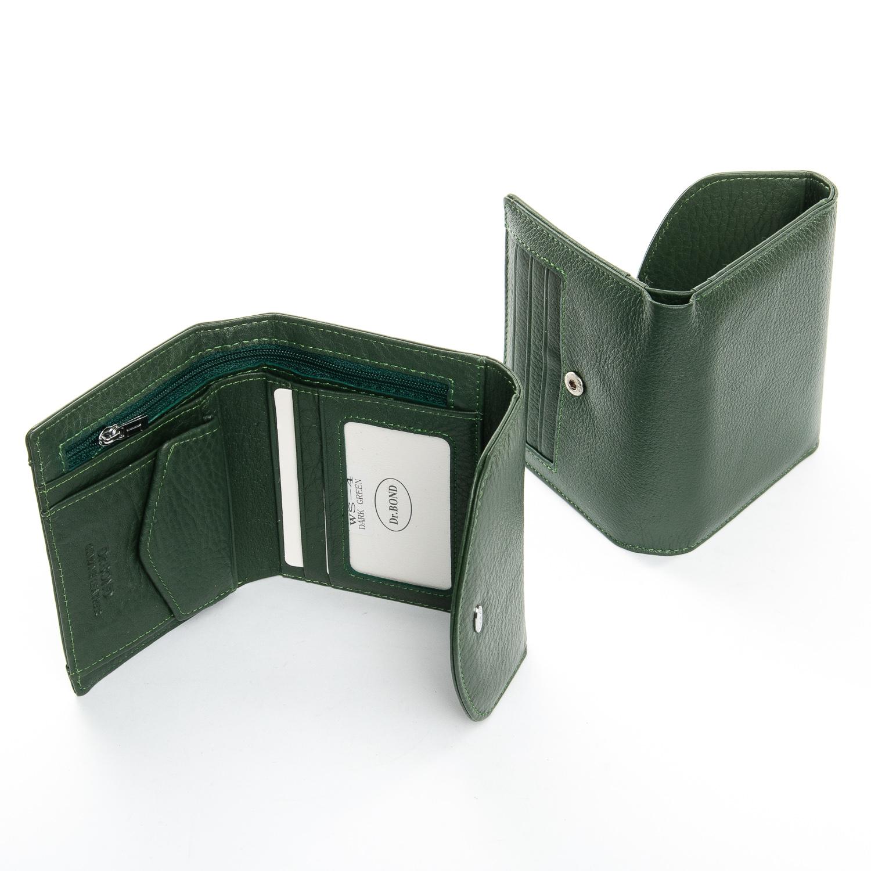 Кошелек Classic кожа DR. BOND WS-4 dark-green - фото 4