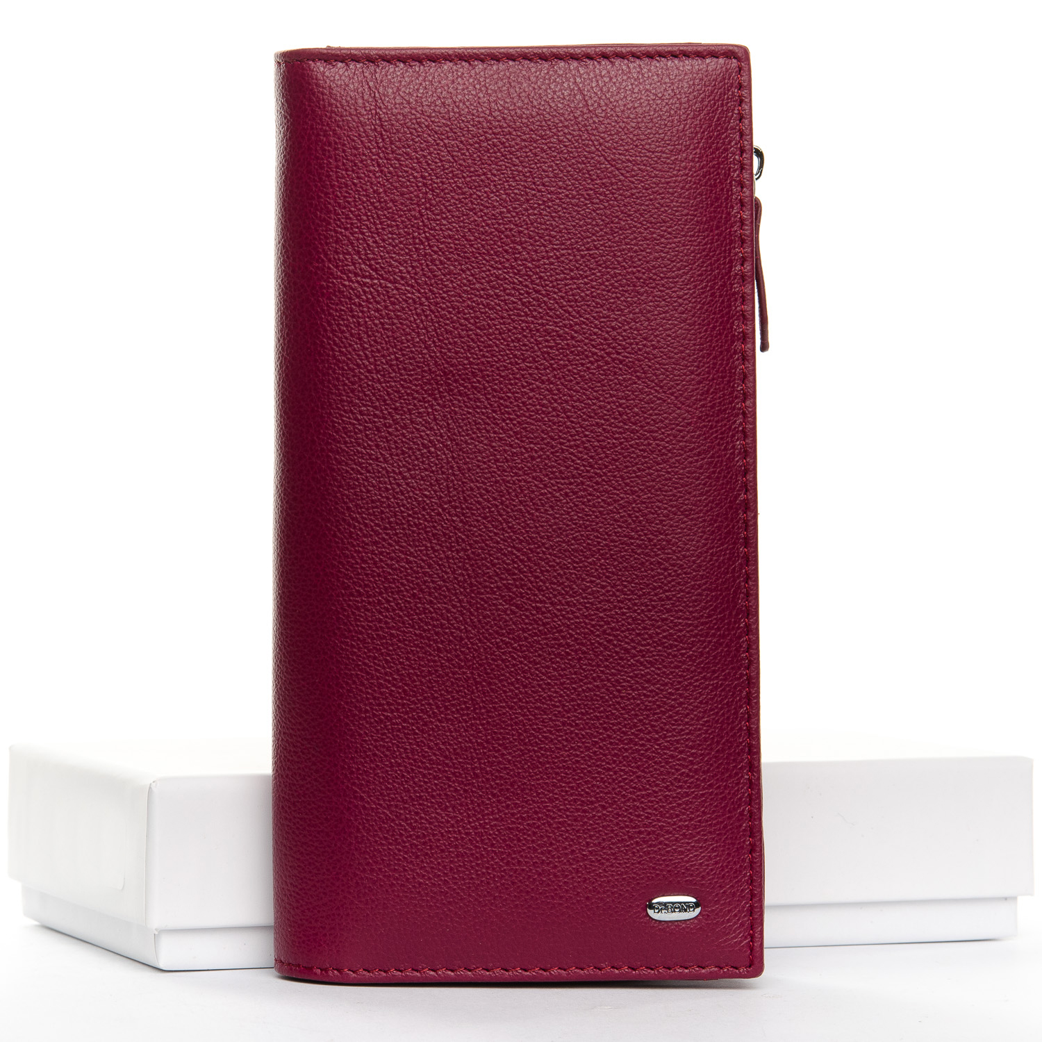 Кошелек Classic кожа DR. BOND WMB-3M plum-red