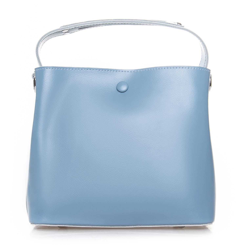 Сумка Женская Классическая кожа ALEX RAI 2-02 8702 light-blue
