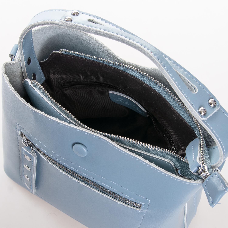 Сумка Женская Классическая кожа ALEX RAI 2-02 8702 light-blue - фото 5