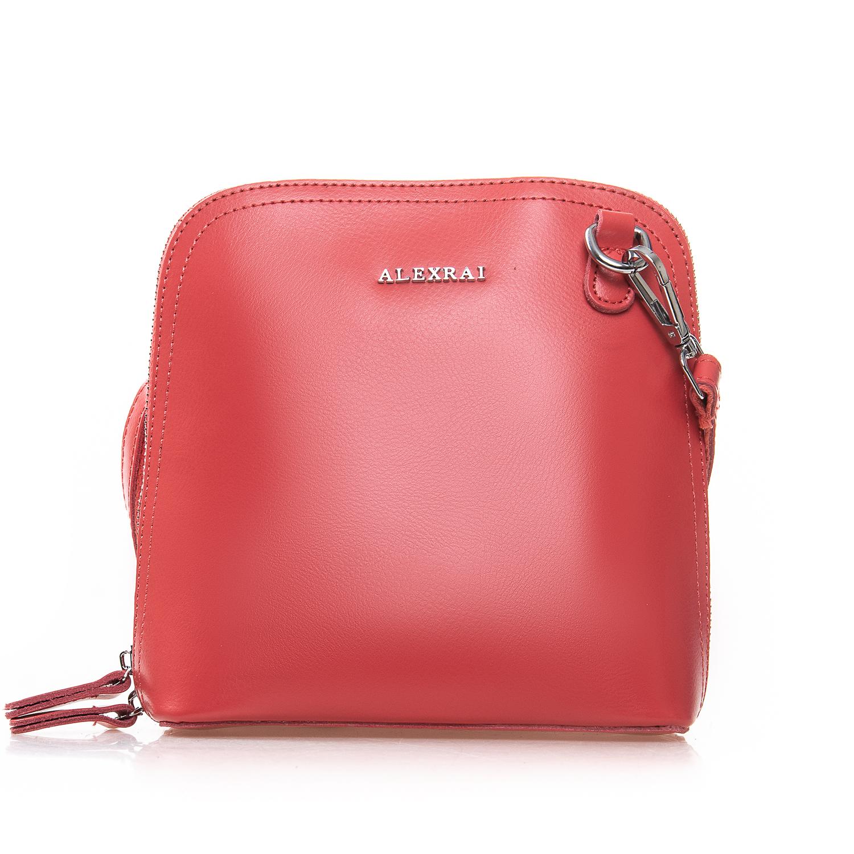 Сумка Женская Клатч кожа ALEX RAI 2-01 8803 watermelon red
