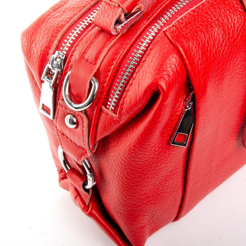 Сумка Женская Классическая кожа ALEX RAI 2-03 8762-9 scarlet - фото 3