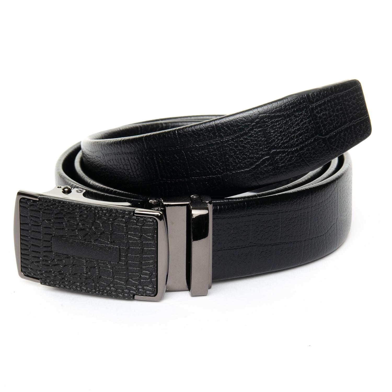 Ремень Мужской кожа 25-DM-6441 black