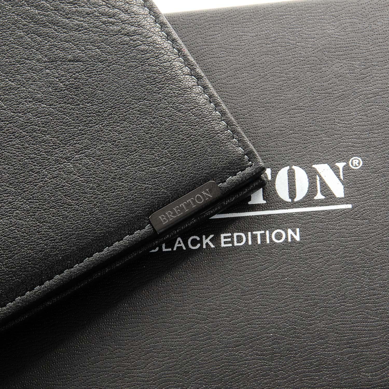 Кошелек BE Мужской BRETTON 208S black - фото 3