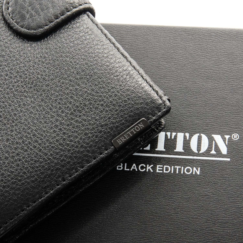 Кошелек BE Мужской BRETTON 208-3240 black - фото 3