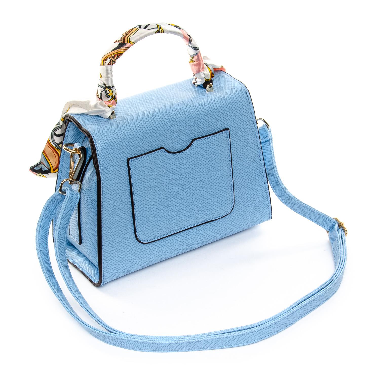 Сумка Женская Классическая иск-кожа FASHION 1-04 5108 blue - фото 4
